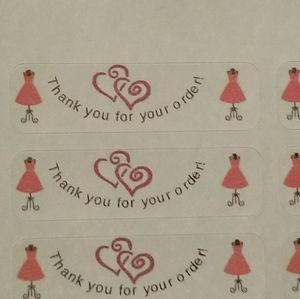 128 LABELS Thank You For Your Order dresses hearts